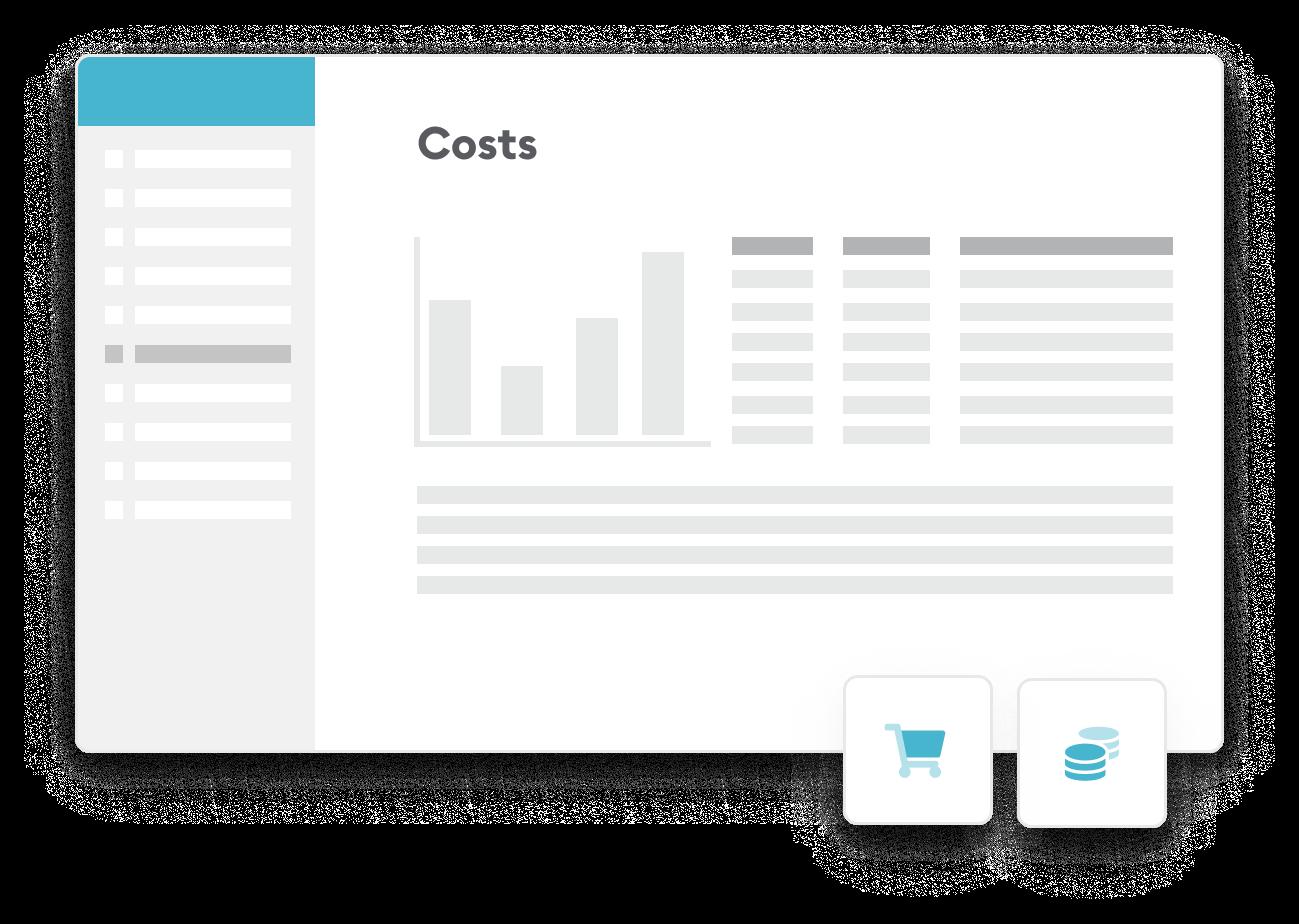 Screen costs