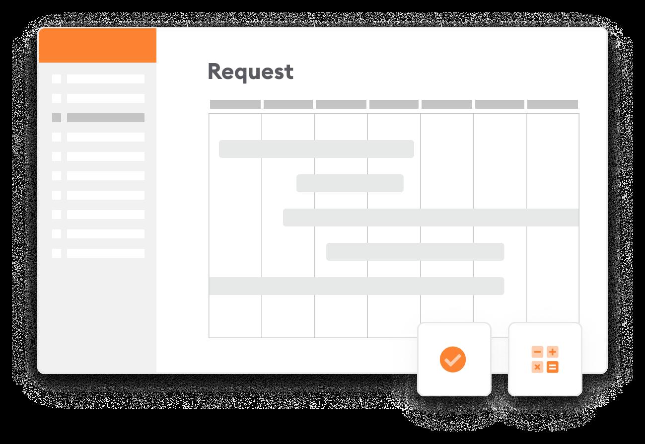 Screen requests